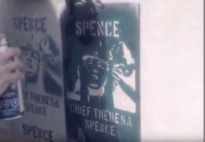 Figure 7: Wall of Femmes' Chief Theresa Spence (Casey) Source: Wall of Femmes, 2014